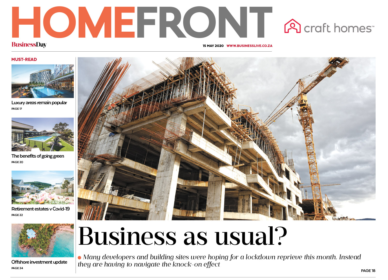 Homefront - 15 May