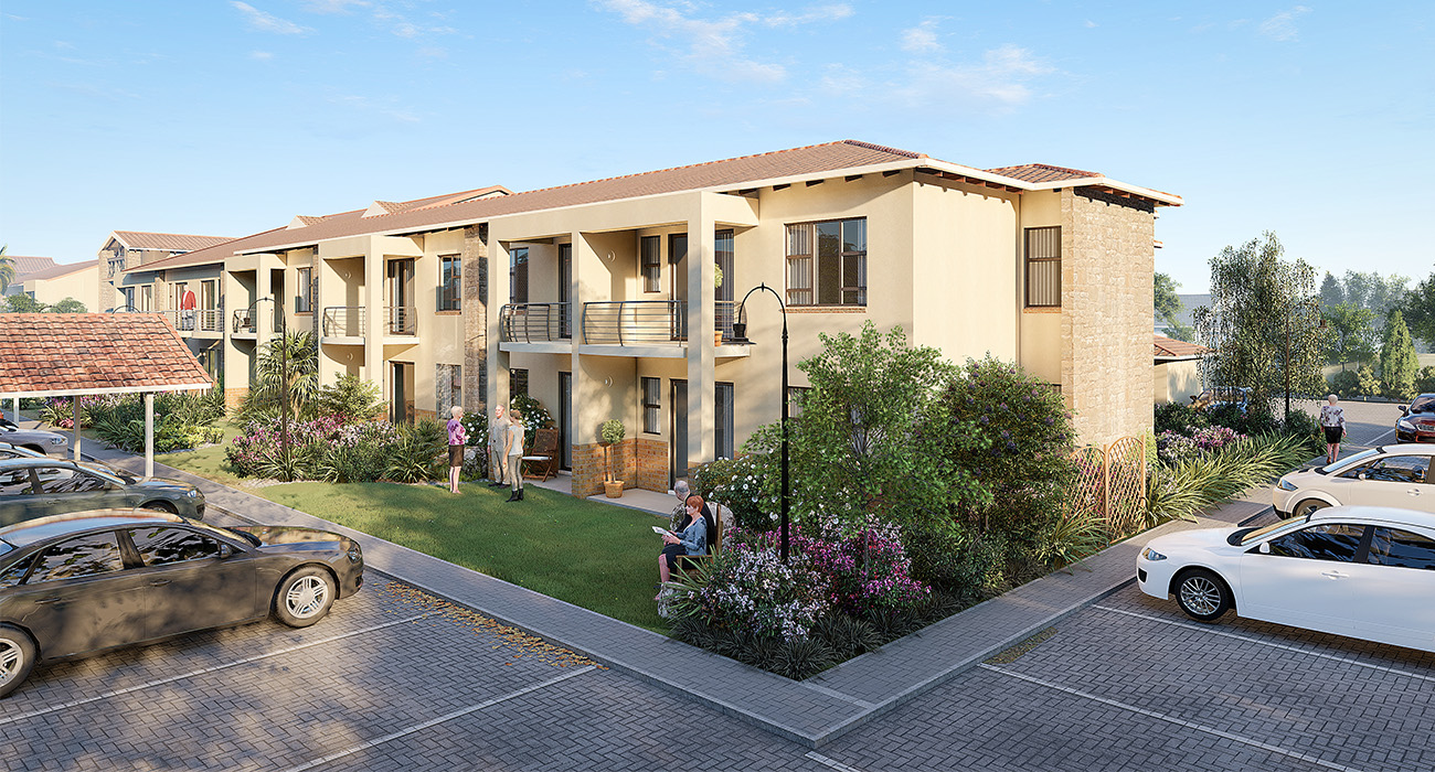 The Retreat, a Craft Homes development in Hazeldean, Pretoria East