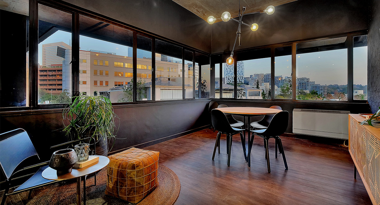 BlackBrick, a new residential offering in a converted office building in Sandton