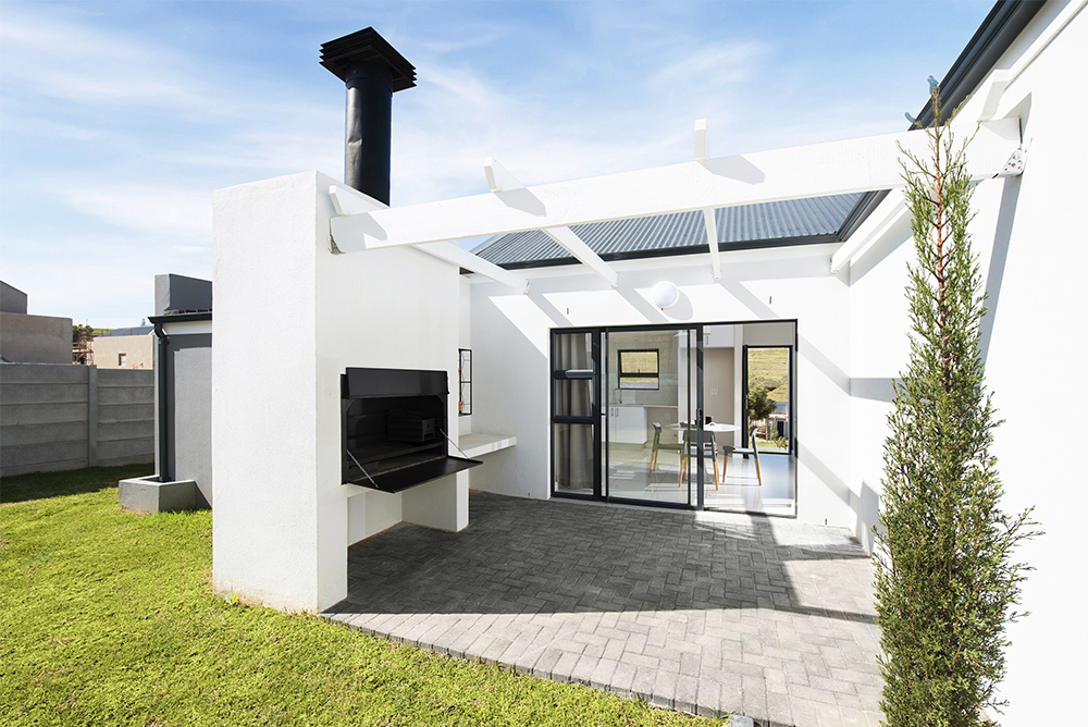 Olive Place family home at Klipfontein Farm
