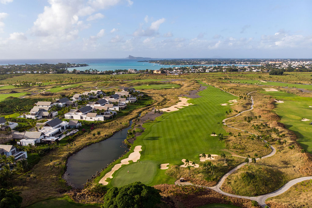 Mont Choisy Golf & Beach Estate in the north of Mauritius