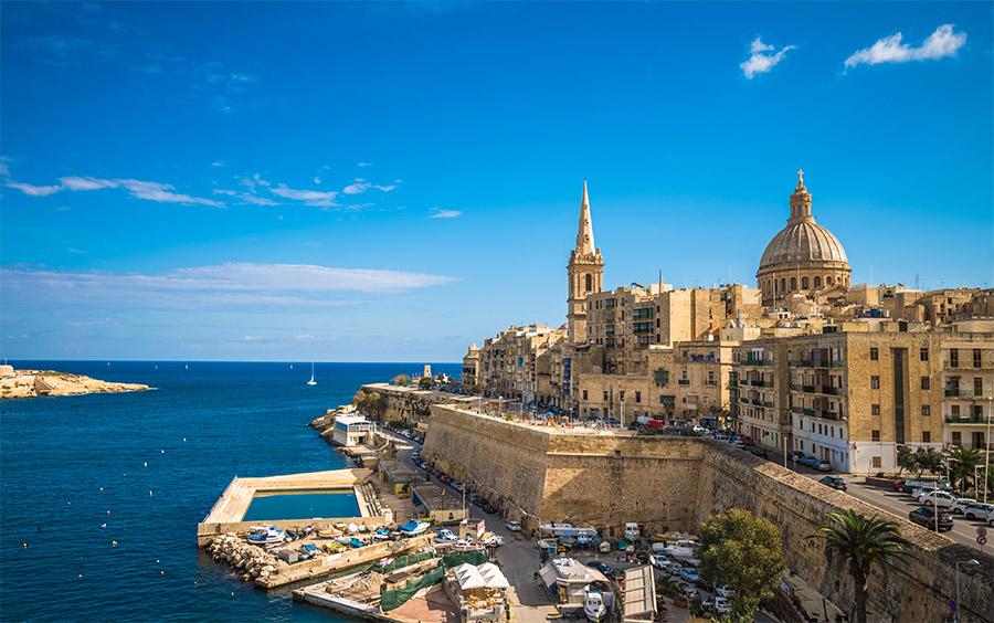 Valletta, the capital of Malta