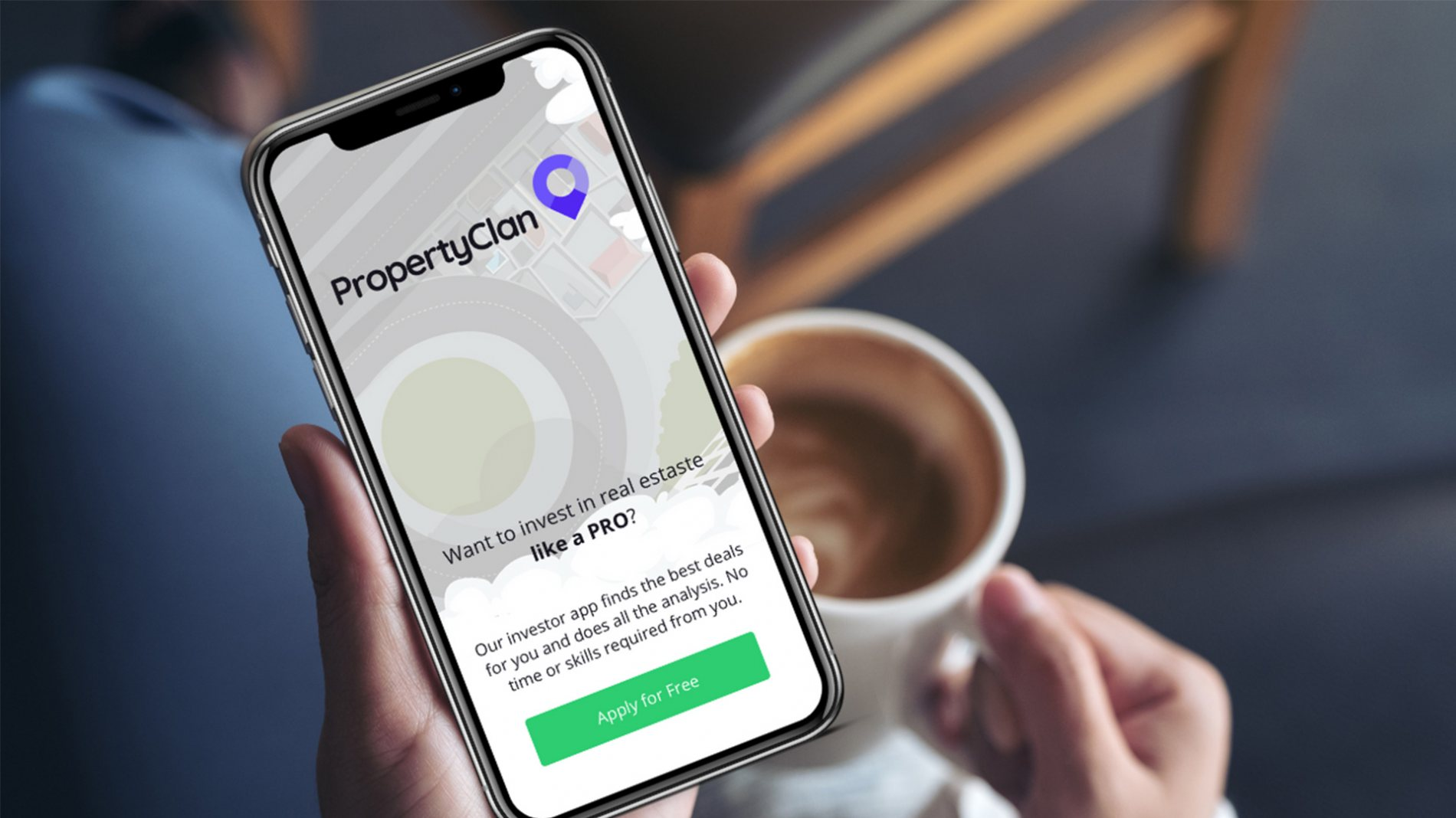 PropertyClan design new app for property tech platform