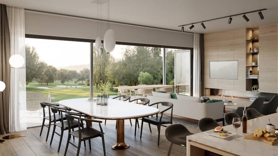Lounge and Dining Room at Brookfield at Royal
