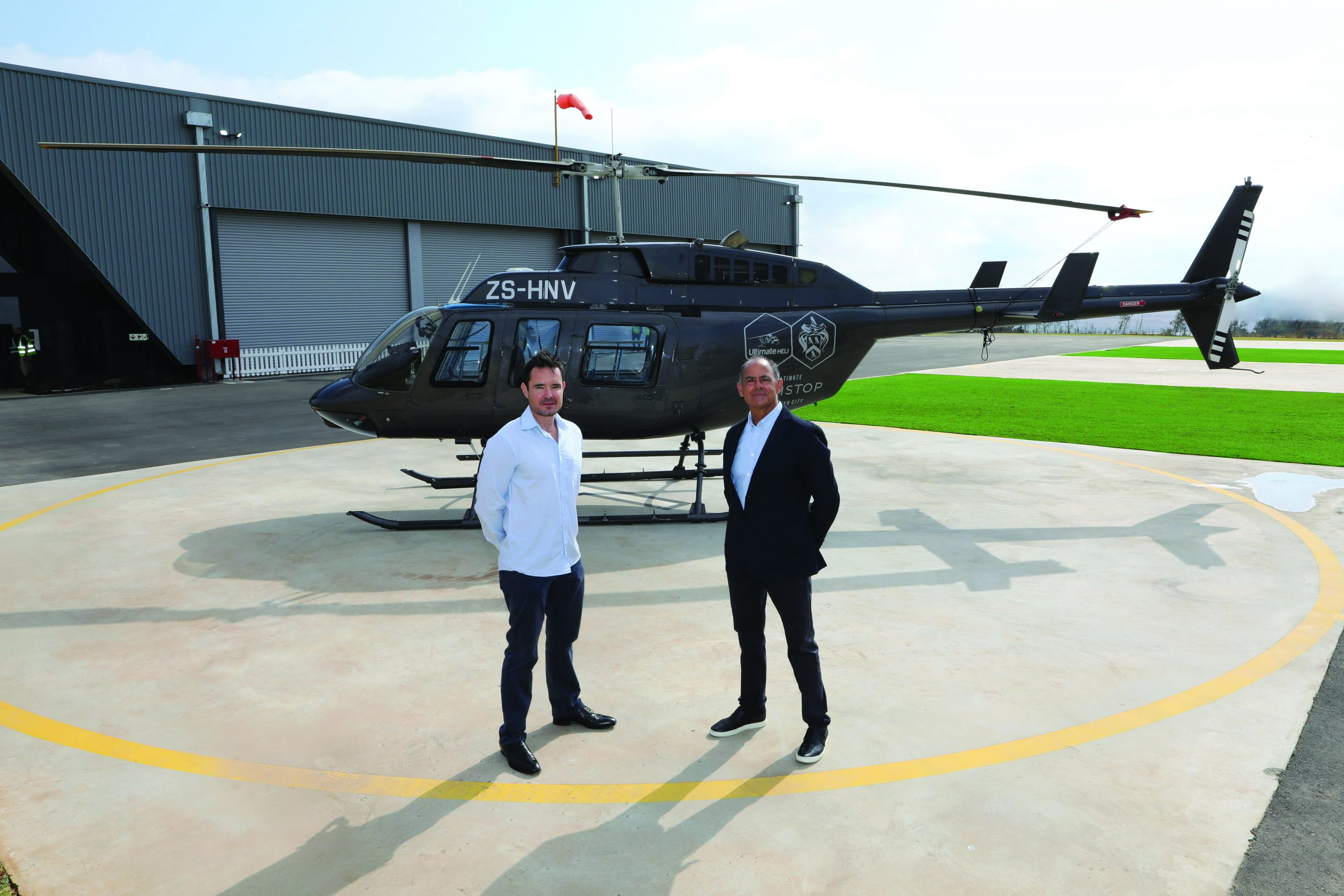 Steyn City's Ultimate Helistop a first for SA residential developments
