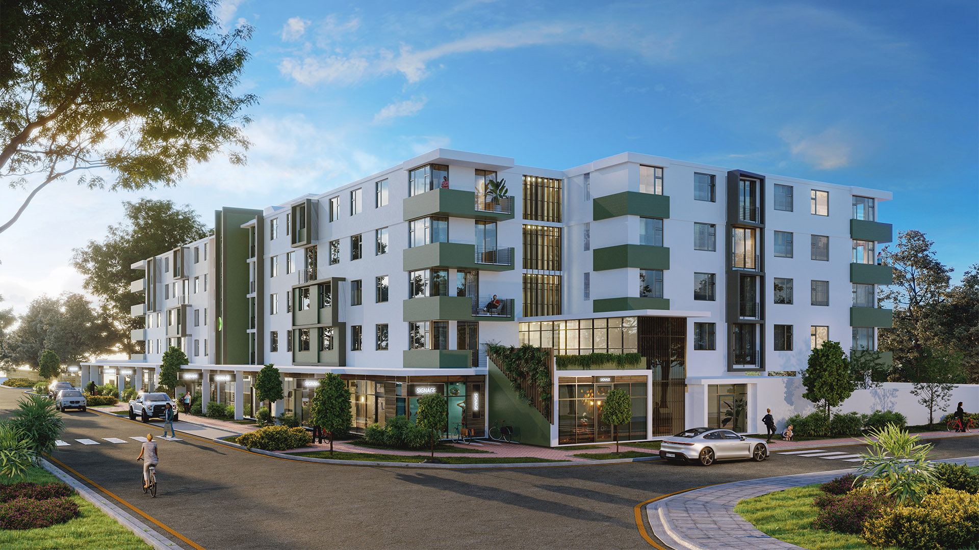 PineworX apartments in Pinelands